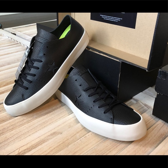 92be6ef6c55d Men s Converse Black Leather One Star Prime